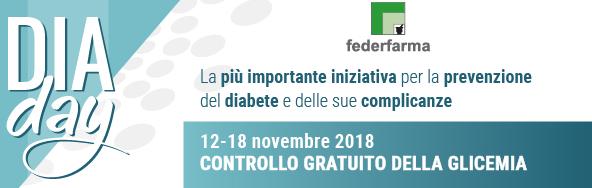 Controllo glicemia 11 2018